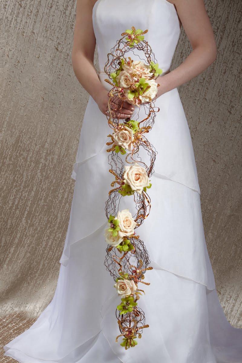 Avant Garde Bridal Bouquet - Google image