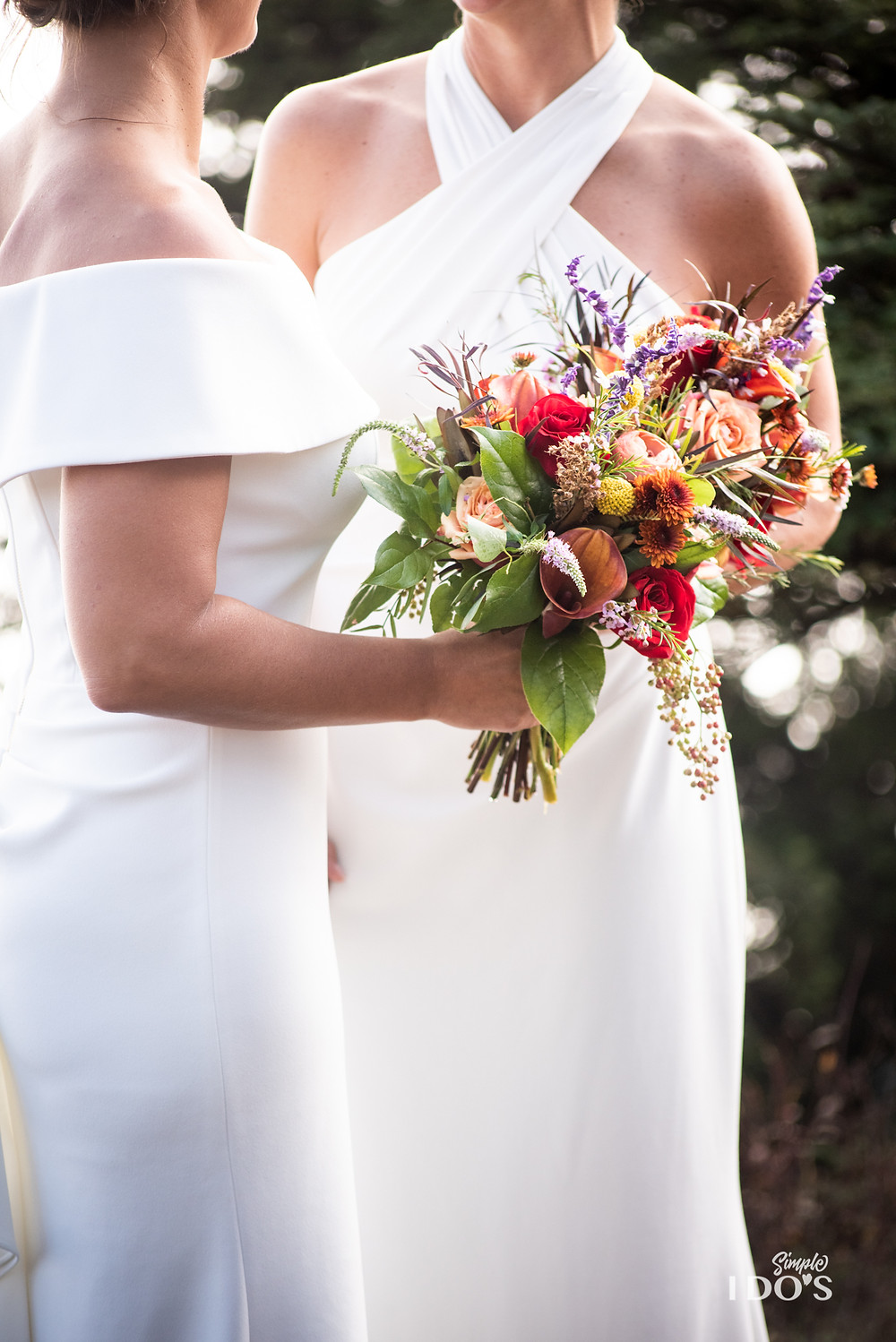 Love is love, Wedding florals, same sex marriage