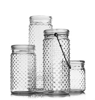Hobnail Lantern / Vase