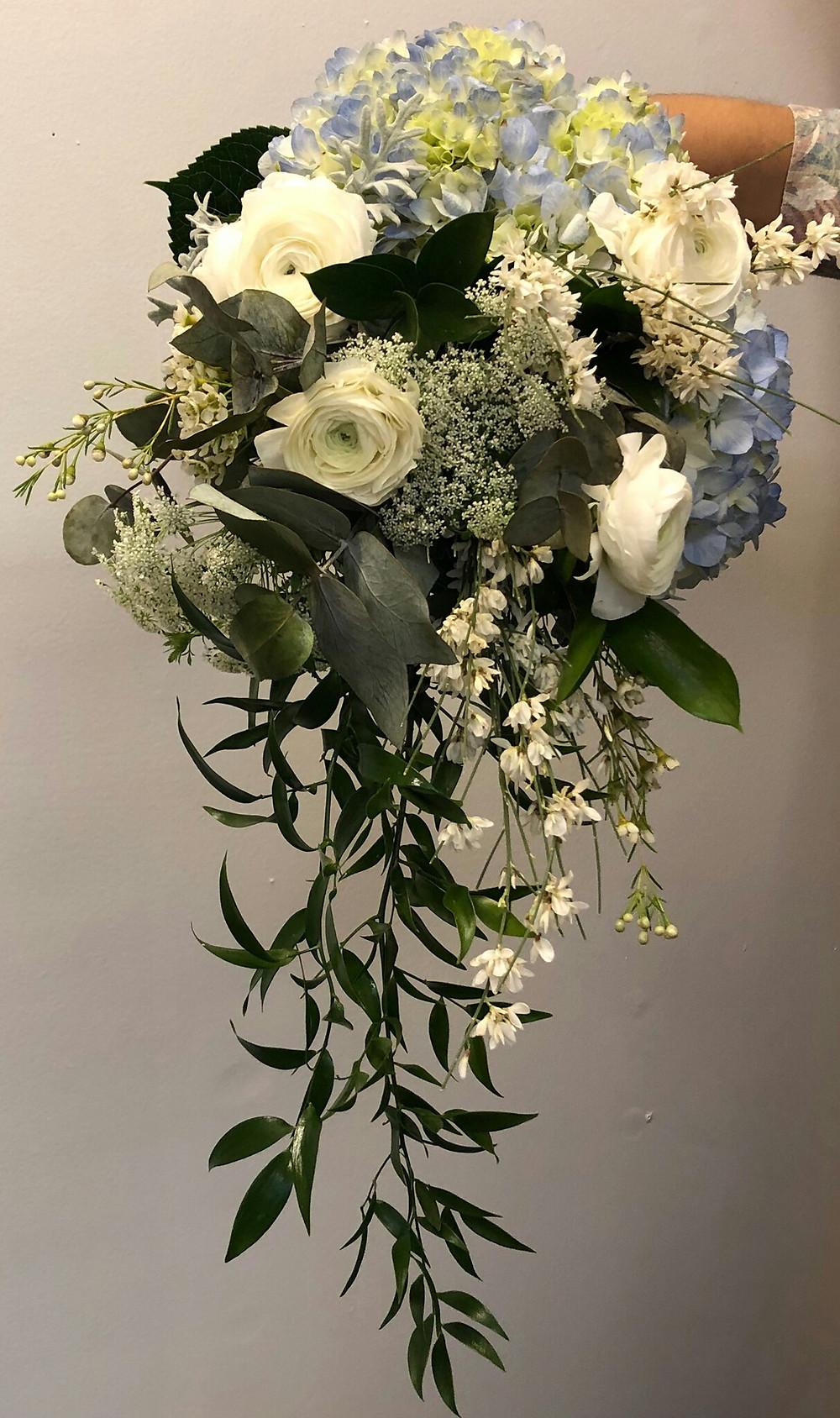 Bridal Bouquet, Wedding Flowers, Arm Bouquet , Mckenzie Botanicals, Wedding flowers Haywood County