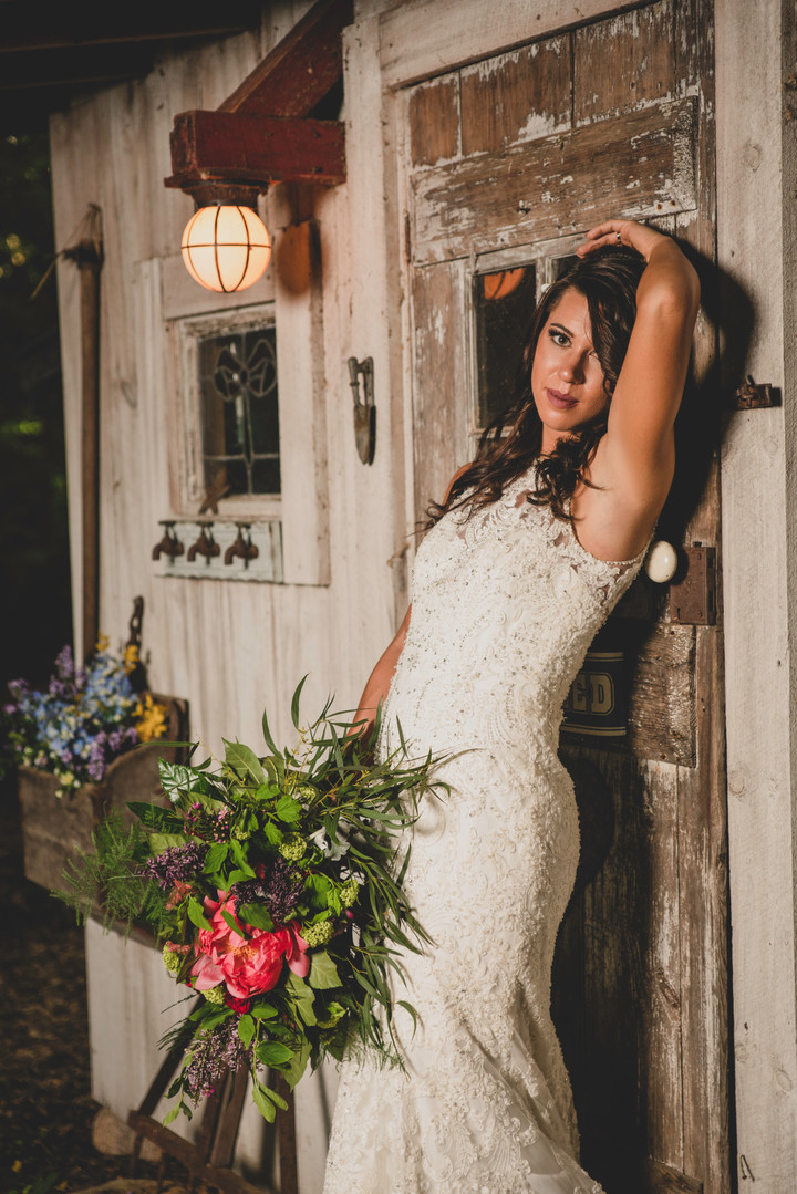 Bridal Shoot - Peaceful Hollow