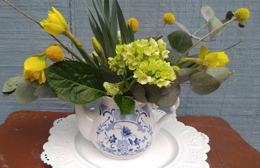 Wedding Centerpiece, Locally sourced wedding, BoHo wedding, McKenzie Botanicals