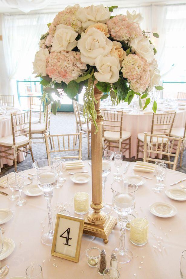 Raised centerpiece, Tall Centerpiece, Reception flowers