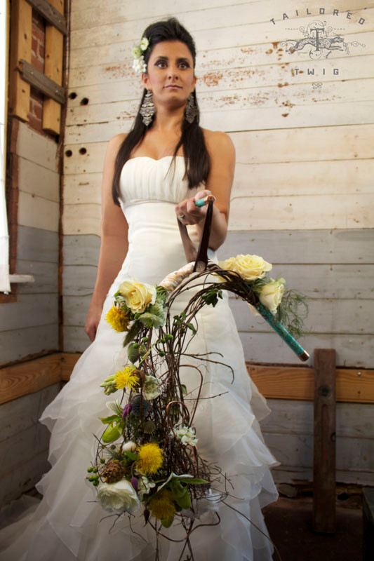 Woodland Bridal Bouquet - Google Image
