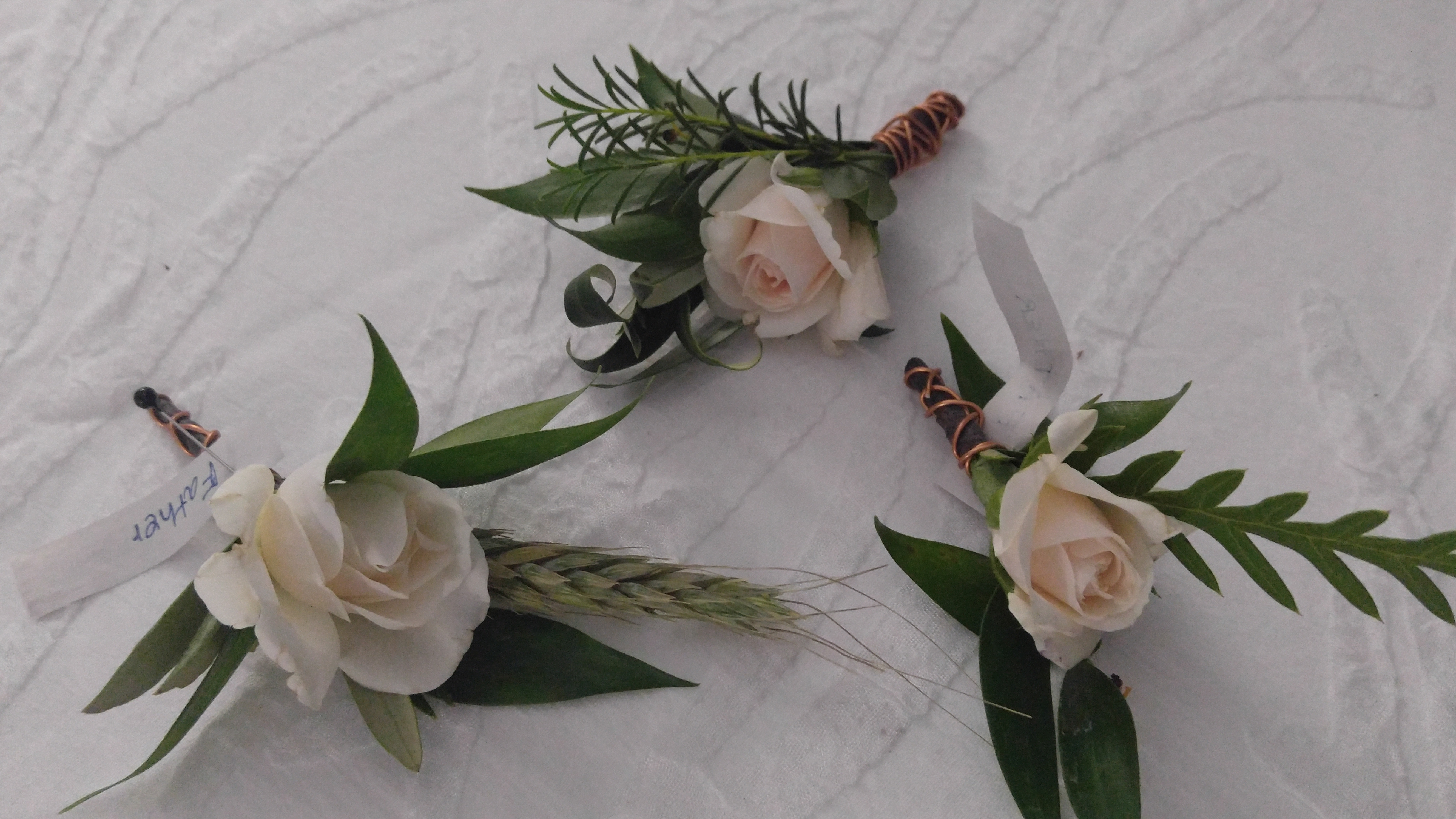 Blooming Boutonniere