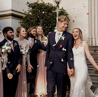 This was surely a bucket list wedding fo