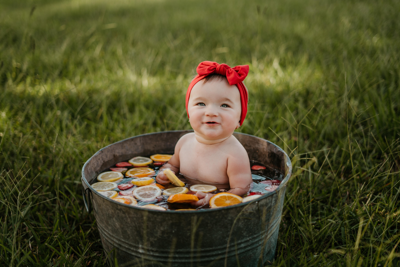 Fruit Bath Summer Mini Sessions