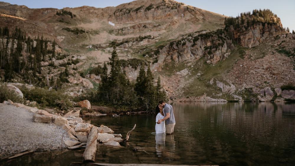 engagement photographer willing to travel utah cecret lake