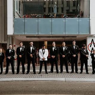 I LOVE this shot of the groomsmen, but t