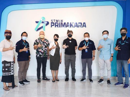 Kunjungan Kementrian Koperasi dan Usaha Kecil Menengah Republik Indonesia ke Kampus STMIK Primakara