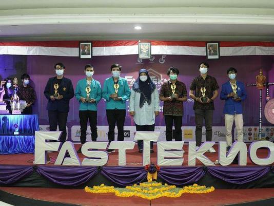 """Dua Mahasiswa STMIK Primakara Berhasil Memborong 2 Gelar Juara di Event """"FASTTEKNO 2021"""""""