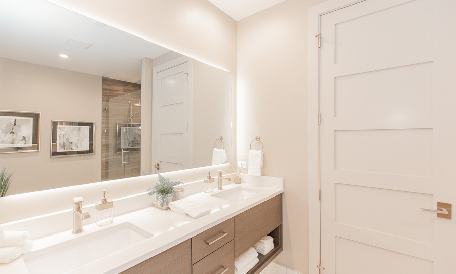 The Black Bull Cottages Bathroom Vanity