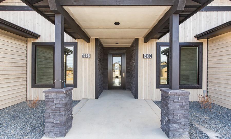 The Black Bull Cottages Entry