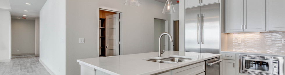 Granite Peak kitchen island