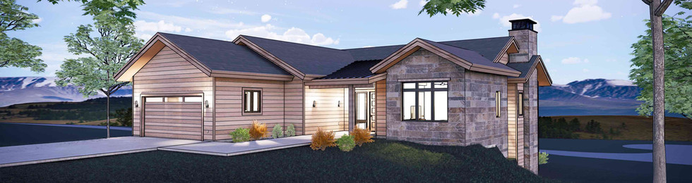 Lot 260 Front Perspective Night - Color.