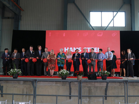 Hans Steel Canada Grand Opening