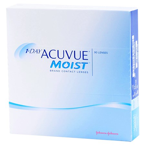 Acuvue 1 day moist (90 pack)