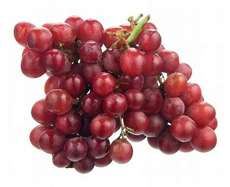 Grapes Red seedless per lb