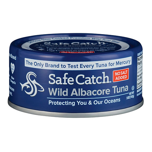 Tuna - Albacore - Safe Catch (per can)