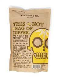 Ground  chocosol - this is not a bag of coffee