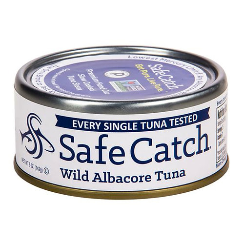 Tuna wild - Safe Catch (per can)