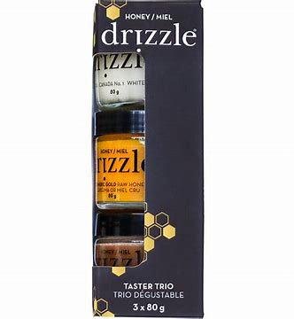 Honey Drizzle Taster Trio mini 3x80g