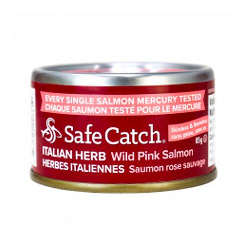 Salmon - Italian Mix, Safe Catch (per can)