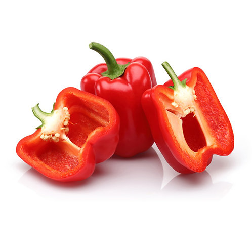 Peppers -  Red bell MEX each