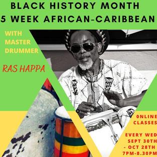 African & Caribbean Drumming Classes