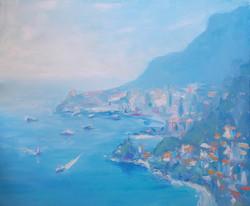 La vue sur Monaco