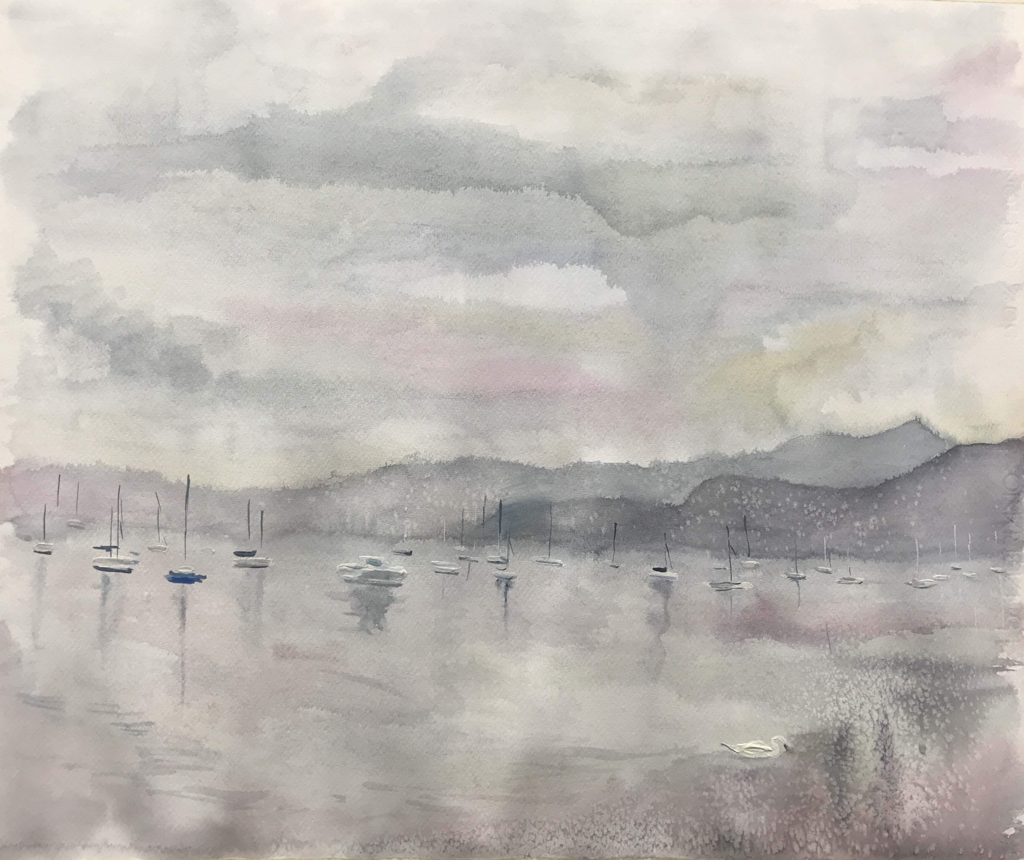 Garda Lake on January
