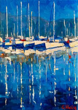 À midi au port de St-Jean-Cap-Ferrat