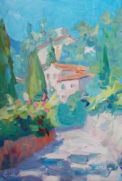 Midi à Roquebrune village