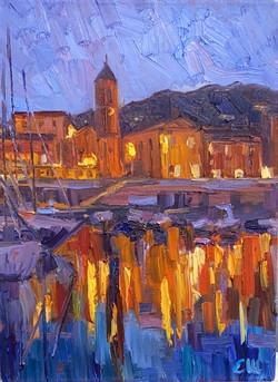 Lumiéres du soir à St-Jean-Cap-Ferrat