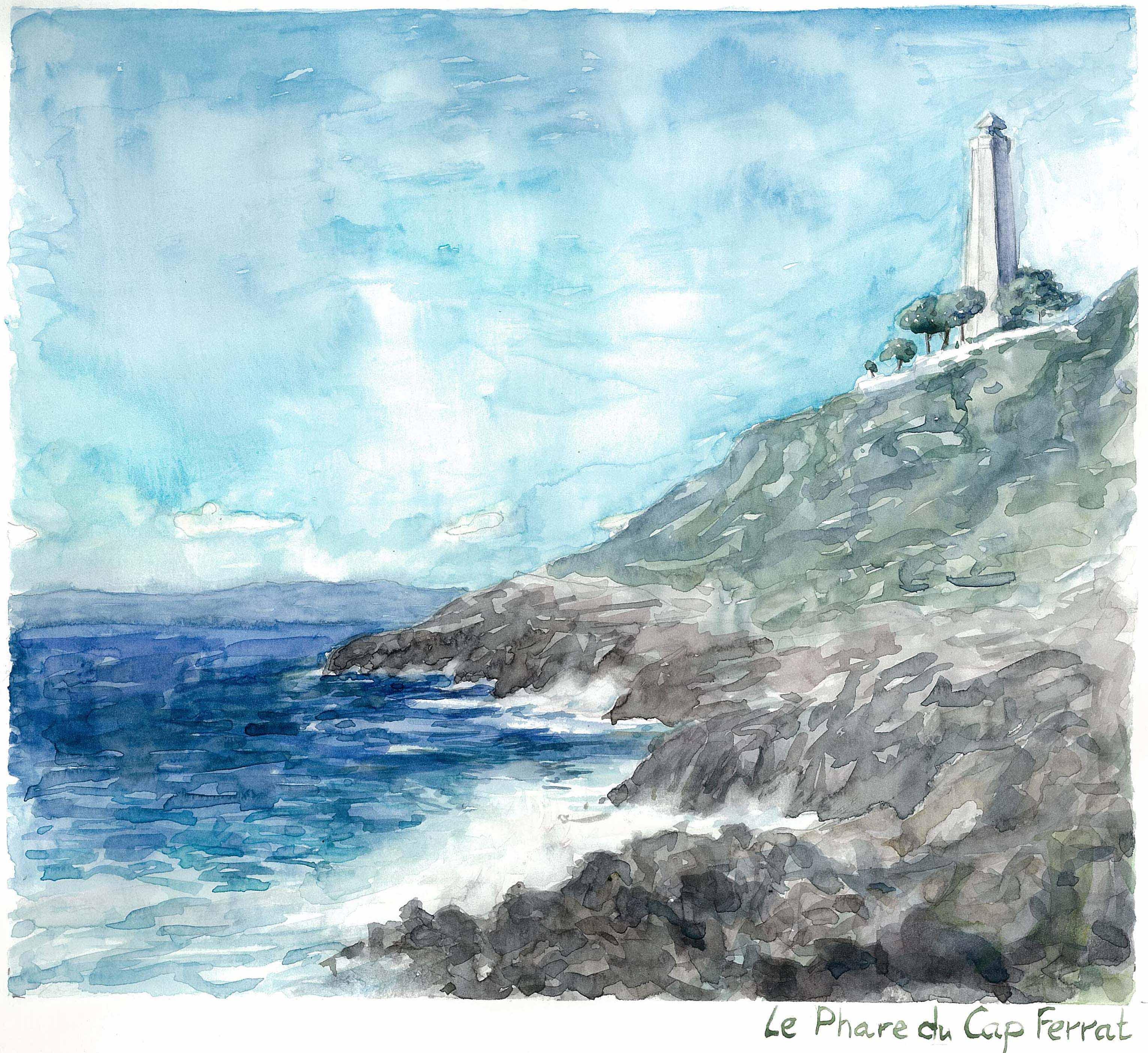 The lighthouse of Cap-Ferrat