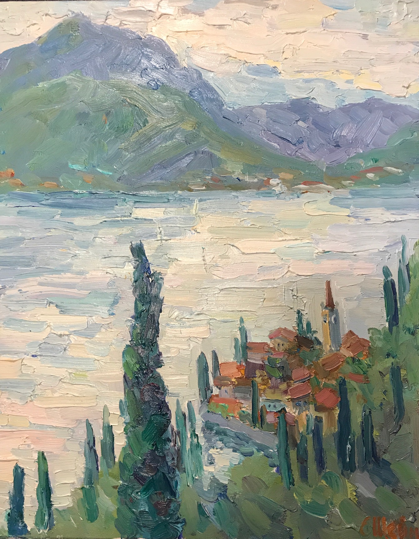 View on Varenna. Como lake