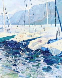Les yacht de lac Garda