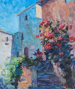 Les roses à Tourrettes-sur-Loup