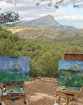 Уроки живописи на Лазурном берегу и в Провансе