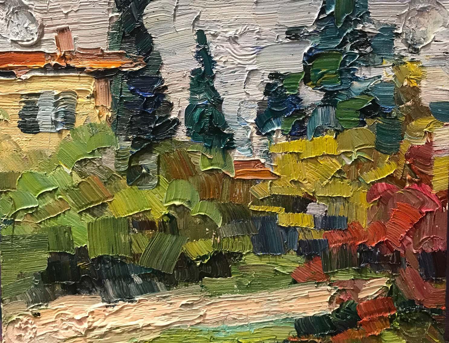 L'automne à Verone. La vigne rouge