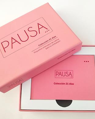 Colección Tarjetas Embarazo Pausa