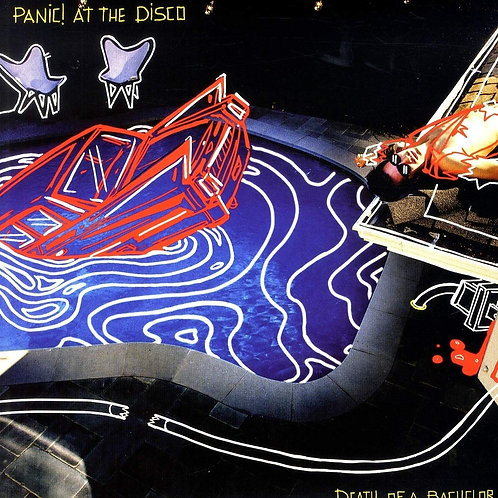 PANIC! AT THE DISCO Death Of A Bachelor (Silver)