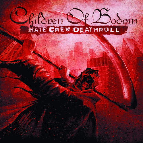 CHILDREN OF BODOM Hate Crew Deathroll (Red)