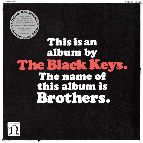 THE BLACK KEYS Brothers (10th anniversary)