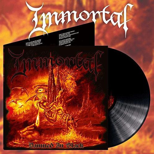 IMMORTAL Damned In Black (Alternative Artwork)