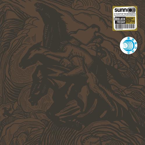 SUNN O))) Flight Of The Behemoth (Gold with Black Splatter)
