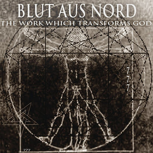 BLUT AUS NORD The Work Which Transforms God (Ultra Clear / Black)