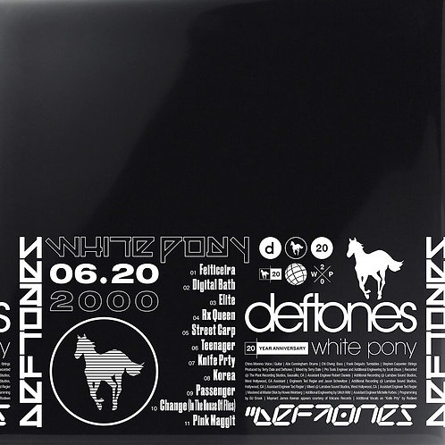 DEFTONES White Pony (20th anniversary)