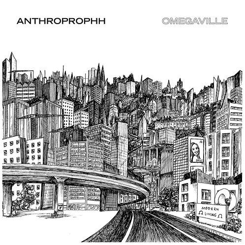 ANTHROPROPHH Omegaville (Green & Black Swirl)