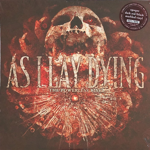 AS I LAY DYING The Powerless Rise (Red / Black marbled)